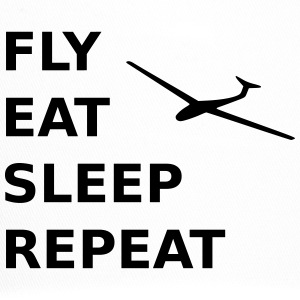 Fly eat sleep repeat - Trucker Cap