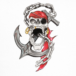 Crane Pirate Tattoo - Trucker Cap