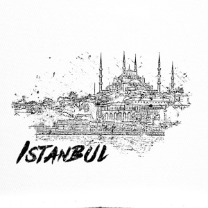 Istanbul - city view sketch - Trucker Cap