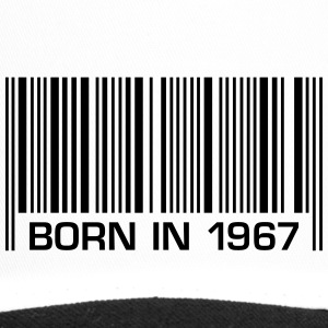 born in 1967 50th birthday 50. Geburtstag Barcode - Trucker Cap