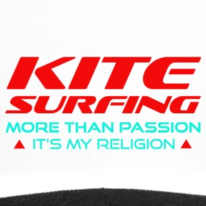 KITESURFING - PLUS DE PASSION - ITS MY RELIGION - Trucker Cap