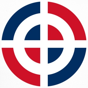 Roundel of the Dominican Republic svg - Trucker Cap