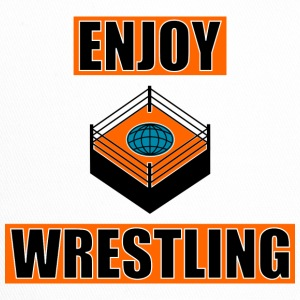 ENJOY_WRESTLING_ORANGE_DesASD - Trucker Cap