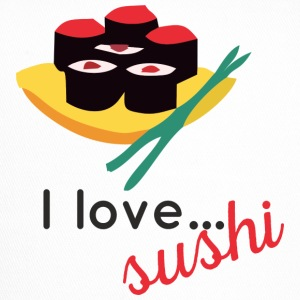 "Design ""I love sushi ..."" - Trucker Cap"