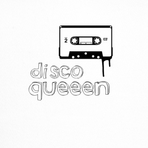 disco queen vintage Kassette illustration Frau gir - Trucker Cap