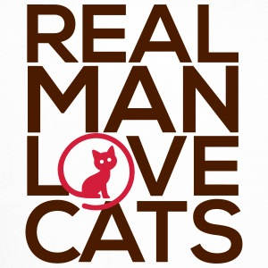 Real man love cats - Trucker Cap