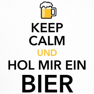 Keep calm und hol Bier Bierkasten Grillparty Wiesn - Trucker Cap