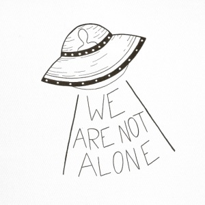 We are not alone - Trucker Cap