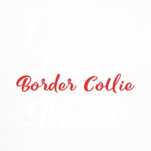 Border Collie shirt Border Collie mamma stolt - Trucker Cap