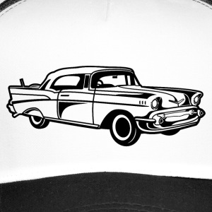 Chevy Bel Air / Veteranbiler 01_schwarz - Trucker Cap