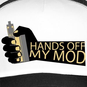 Hands Off - Mijn Mod - Vaper Shirt - Trucker Cap