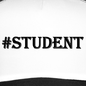 STUDENT black - Trucker Cap