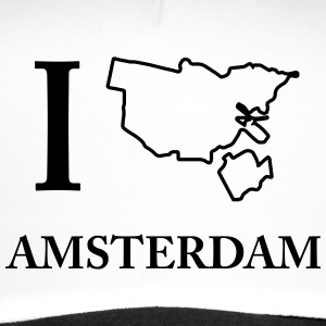 Je I Love Amsterdam Hollande Weed T-shirt - Trucker Cap
