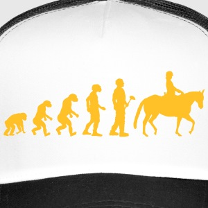 Evolutietheorie riding - Trucker Cap