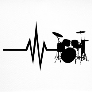 My heart beats for drums - Trucker Cap