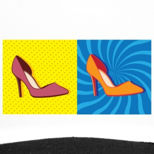 Pop Art / Comic: Pumps - Women's shoes - Trucker Cap