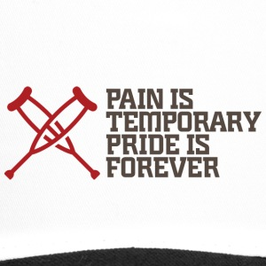 Pain Is Temporary. Pride Is Forever! - Trucker Cap
