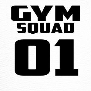 gym squad 01 black - Trucker Cap