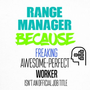 range manager - Trucker Cap
