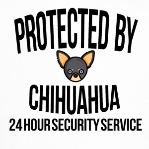 Protected by chihuahua - Trucker Cap