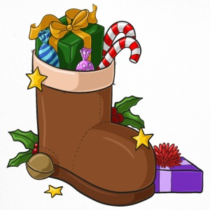 Christmas boots filled comic - Trucker Cap