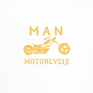 Man on motorcycle - Trucker Cap