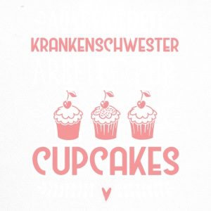 Trained nurse - cupcakes - Trucker Cap