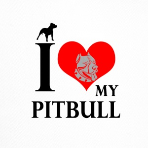 Dog T Shirt | I Love My Pitbull - Trucker Cap