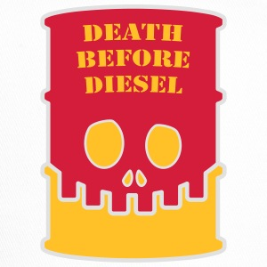 Death before diesel - Trucker Cap