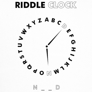 Riddle Clock Nerd - Trucker Cap