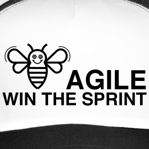BE AGILE WIN THE SPRINT - Trucker Cap
