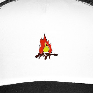 Fire color fire - Trucker Cap