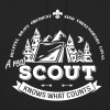A real scout knows what counts - Bluza z kapturem typu unisex