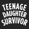 TEENAGE DAUGHTER SURVIVOR Shirts met lange mouwen - Hoodie unisex