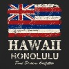 Hawaii Flag - Honolulu - Vintage Look - Unisex Hoodie
