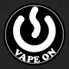 Vape T-shirt Icon Vape On - Sweat-shirt à capuche unisexe