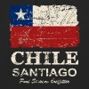 Chile Flag - Vintage Look - Sweat-shirt à capuche unisexe