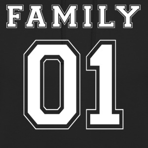 FAMILY 01 - White Edition - Unisex Hoodie