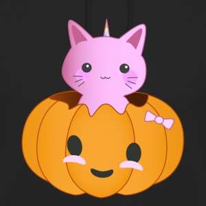 Pumpkin Kitty - Hættetrøje unisex