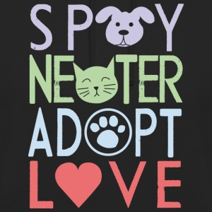 Adopter un animal de compagnie - Sweat-shirt à capuche unisexe