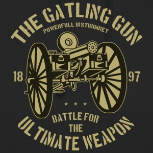 The Gatling gun2 - Unisex-hettegenser
