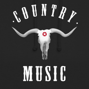country music longhorn western ranch cowboy usa fu - Unisex Hoodie