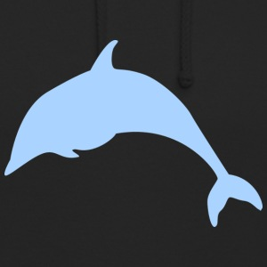 blue Dolphin - Sweat-shirt à capuche unisexe