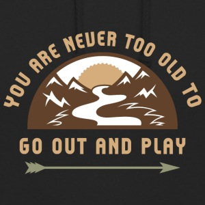 Go Out And Play - Unisex Hoodie
