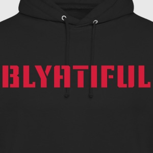 blyatiful - Sweat-shirt à capuche unisexe