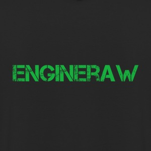 Engineraw - Sweat-shirt à capuche unisexe