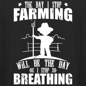The day i Stop Farming - Unisex Hoodie