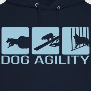 Dog Agility - Sweat-shirt à capuche unisexe