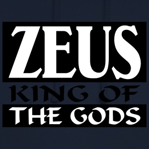 Zeus _-_ King_Of_The_Gods - Sudadera con capucha unisex