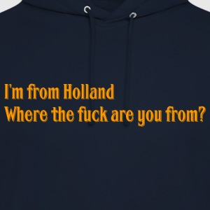 Hollande - Sweat-shirt à capuche unisexe